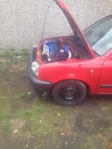 nissan micra turbo, t25, nistune ecu, taxed and mot  image 4