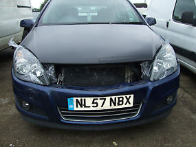 VAUXHALL ASTRA SXI 2007 57 1.6 DAMAGED REPAIRABLE SALVAGE MOTED EASY REPAIR image 1