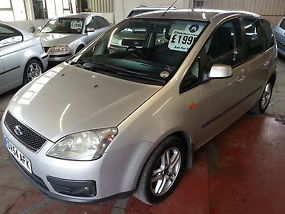 ford focus c-max 1.6 tdci diesel 54 reg. immaculate