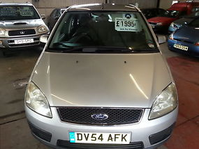 ford focus c-max 1.6 tdci diesel 54 reg. immaculate image 1