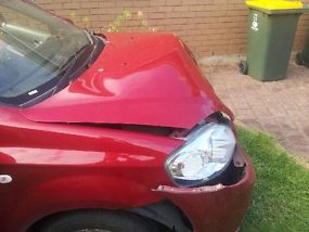 2011 Holden Barina Sedan Damaged image 3