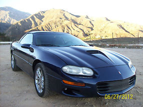 2001 Chevrolet Camaro Z28 SS 5.7L 350Cu. in. V8 OHV Naturally Aspirated RWD,