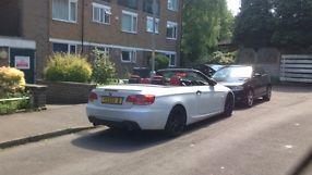 BMW 325D M SPORT E93 CONVERTIBLE 2008 FULLY LOADED FSH+2KEYS PX 320/335/S5/A5/M3