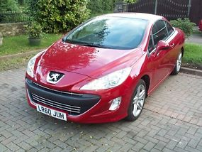 2010 PEUGEOT 308 CC SE HDI RED image 1