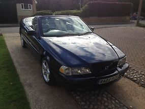 VOLVO C70 T GT CONVERTIBLE BLUE 2003 2 LITRE MANUAL PETROL image 3