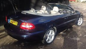 VOLVO C70 T GT CONVERTIBLE BLUE 2003 2 LITRE MANUAL PETROL image 4