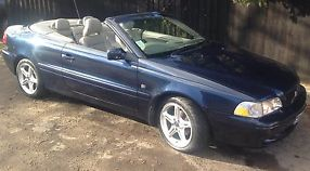 VOLVO C70 T GT CONVERTIBLE BLUE 2003 2 LITRE MANUAL PETROL image 6