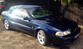VOLVO C70 T GT CONVERTIBLE BLUE 2003 2 LITRE MANUAL PETROL image 8