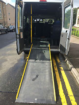 NO RESERVE WHELCHAIR RAMP MINI BUS, 8+1 SEATS DIESEL 2005 PEUGEOT BOXER