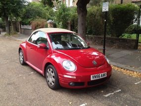 volkswagen beetle convertible tdi red  shape