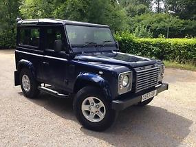 2003 (53) Land Rover Defender 90 XS County Station Wagon Oslo Blue