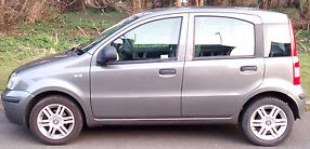 Panda 1.2 MYLIFE 2011, Grey Metallic, Low Mileage, Excellent Condition