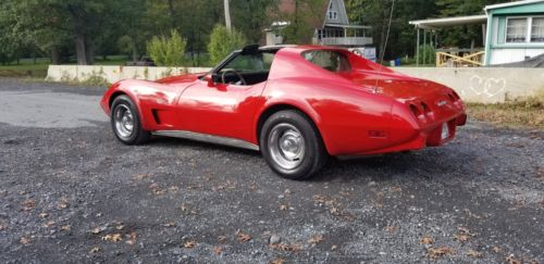 1977  Corvette Coupe
