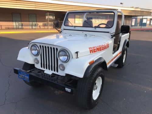 1980  CJ Renegade