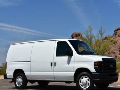 2012  Econoline E150 CARGO VAN TWO OWNER ARIZONA NO RUST GAS MOTOR 4.6L