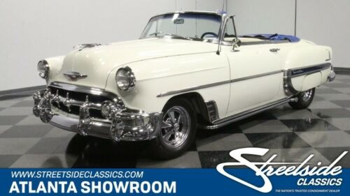classic vintage chrome chevy convertible 350 v8 auto transmission white