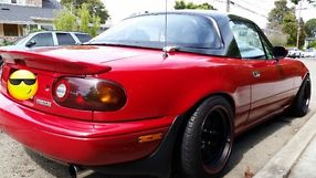 1990 MAZDA MIATA COLOR RED image 1