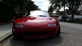 1990 MAZDA MIATA COLOR RED image 6