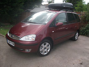 2004 Ford Galaxy Ghia ***Low Mileage*** DVD player, Cycle Rack, Roof Box. image 1
