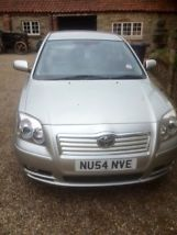 2004 TOYOTA AVENSIS T3-X D-4D SILVER image 2