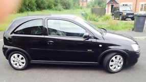 2006 VAUXHALL CORSA SXI+ 1.4 16V BLACK 3 DOOR not golf fiesta polo  image 5