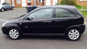 2006 VAUXHALL CORSA SXI+ 1.4 16V BLACK 3 DOOR not golf fiesta polo  image 6