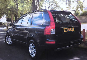2007 VOLVO XC90 SE D5 AUTO GREY GEARTRONIC image 3