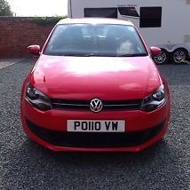 Volkswagen Polo 1.2 TDI with VW service history 21k miles includes number plate image 1
