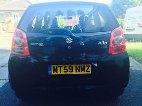 2009 Black Suzuki Alto. STILL UNDER WARRANTY, ONLY 1 OWNER.  image 1
