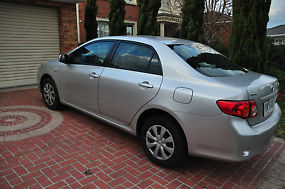 Toyota Corolla Ascent (2009) 4D Sedan 4 SP Automatic (1.8L - Multi Point... image 1