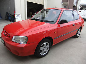 Hyundai Accent (2000) 3D Hatchback 5 SP Manual 1.5L 6 MTH REG & RWC image 1