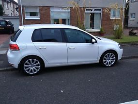 59 Volkswagen golf 2.0 tdi 5 door candy white fsh image 2
