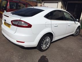 Ford Mondeo 2012 Diesel White Zetec Business Edition 9 Mo Tax SatNav, Manual, image 1