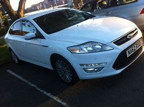 Ford Mondeo 2012 Diesel White Zetec Business Edition 9 Mo Tax SatNav, Manual, image 5