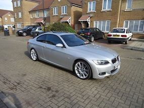 2009 BMW 3 SERIES 3.0 330d M Sport Highline 2dr AUTO GLASS SUNROOF + FACT TINTS