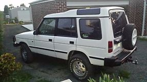 1995 Land Rover Discovery Diesel + second car as spares image 5