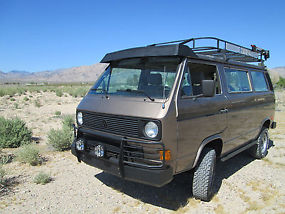 Vanagon fully custom Bostig conversion