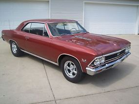 1966 CHEVROLET CHEVELLE SS 396 4 SPEED, TRUE 138 CAR image 5