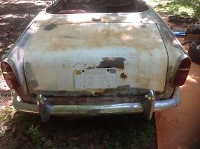 Triumph TR4Aproject or parts with title no reserve image 3