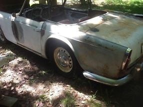 Triumph TR4Aproject or parts with title no reserve image 6