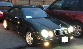 2001 Mercedes W208 CLK430 Convertible