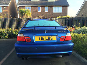 2002 E46 Bmw 330 Ci Clubsport Estoril Blue Sat Nav