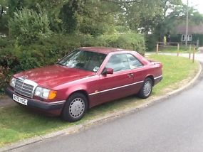Mercedes 230ce mot, tax.