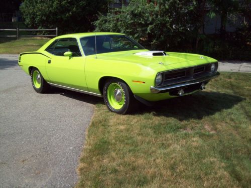 1970  Barracuda