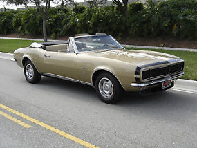 1967 Chevrolet Camaro Convertible RS L30M20 image 2
