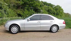 2005 MERCEDES E320 CDI ELEGANCE AUTO SILVER, TINTED WINDOWS image 2