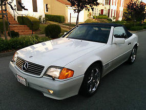 1991 Mercedes Benz 500SL R129 Roadster Convertible with Hardtop image 2