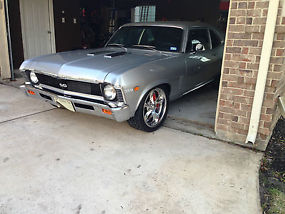 1969 Chevrolet Nova SS Pro-Touring Restomod Muncie M22 Ridetech and Wilwood
