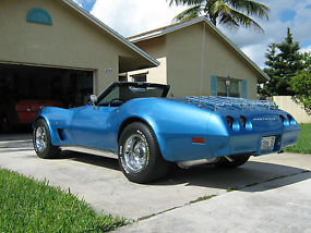 1974 CHEVROLET CORVETTE CONVERTIBLE image 2