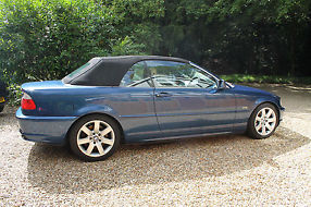 BMW 330Ci Convertible with Winter Hardtop and Sat Nav